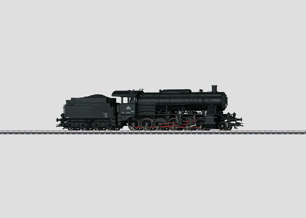 M37053  2012 Dgtl BBåÉ/åÉBB cl 659 Steam Locomotive with Tender (HO Scale)