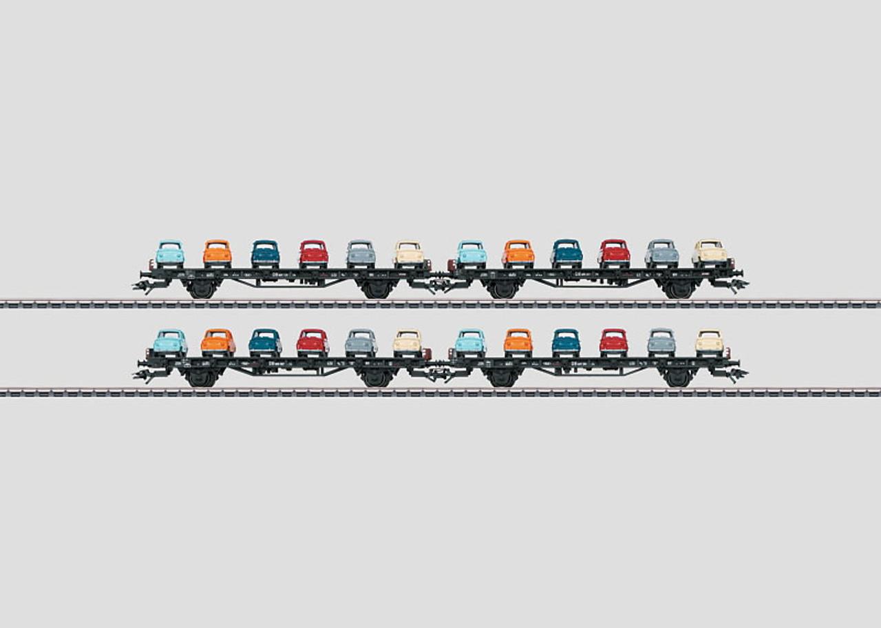 "M45098  2012 Qtr.1  DB ""Goggo"" Auto Transport 4-Car Set (6 Goggos per car) (EX)"