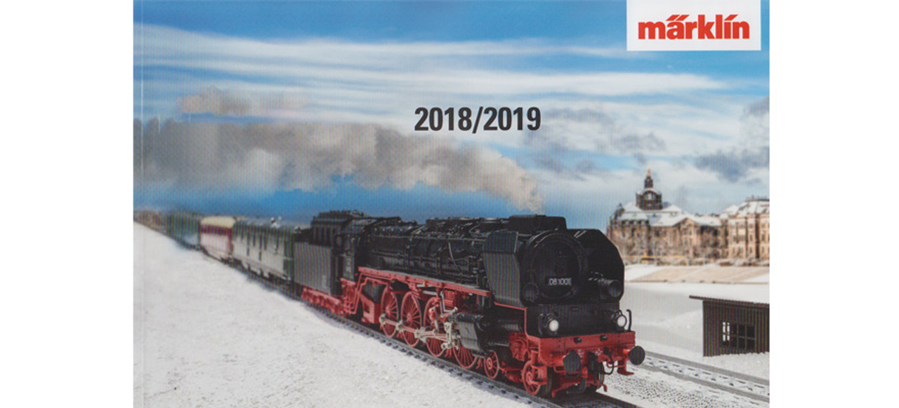W441-15762  Marklin Catalog 2018/2019 -- English