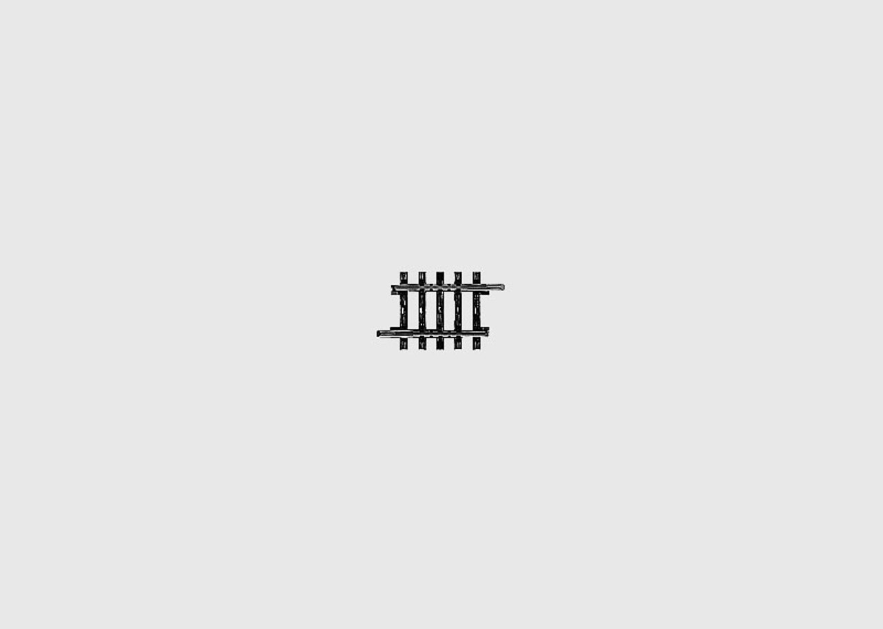"W441-2208  K-Track -- Straight - 1-3/8""  3.5cm"