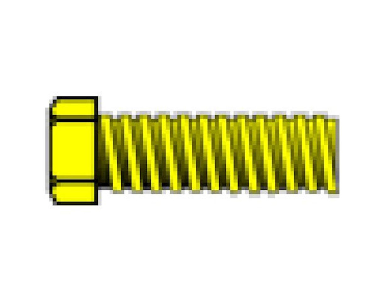 """0-80 1/8"""" Hex Head Machine Screw (5)"""