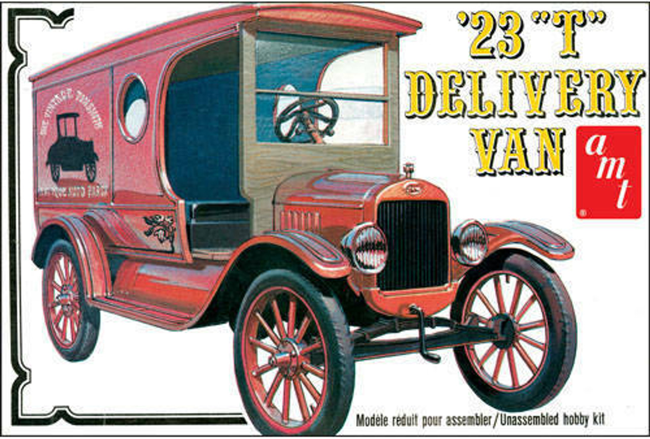 AMT860  1923 Ford Model 'T' Delivery