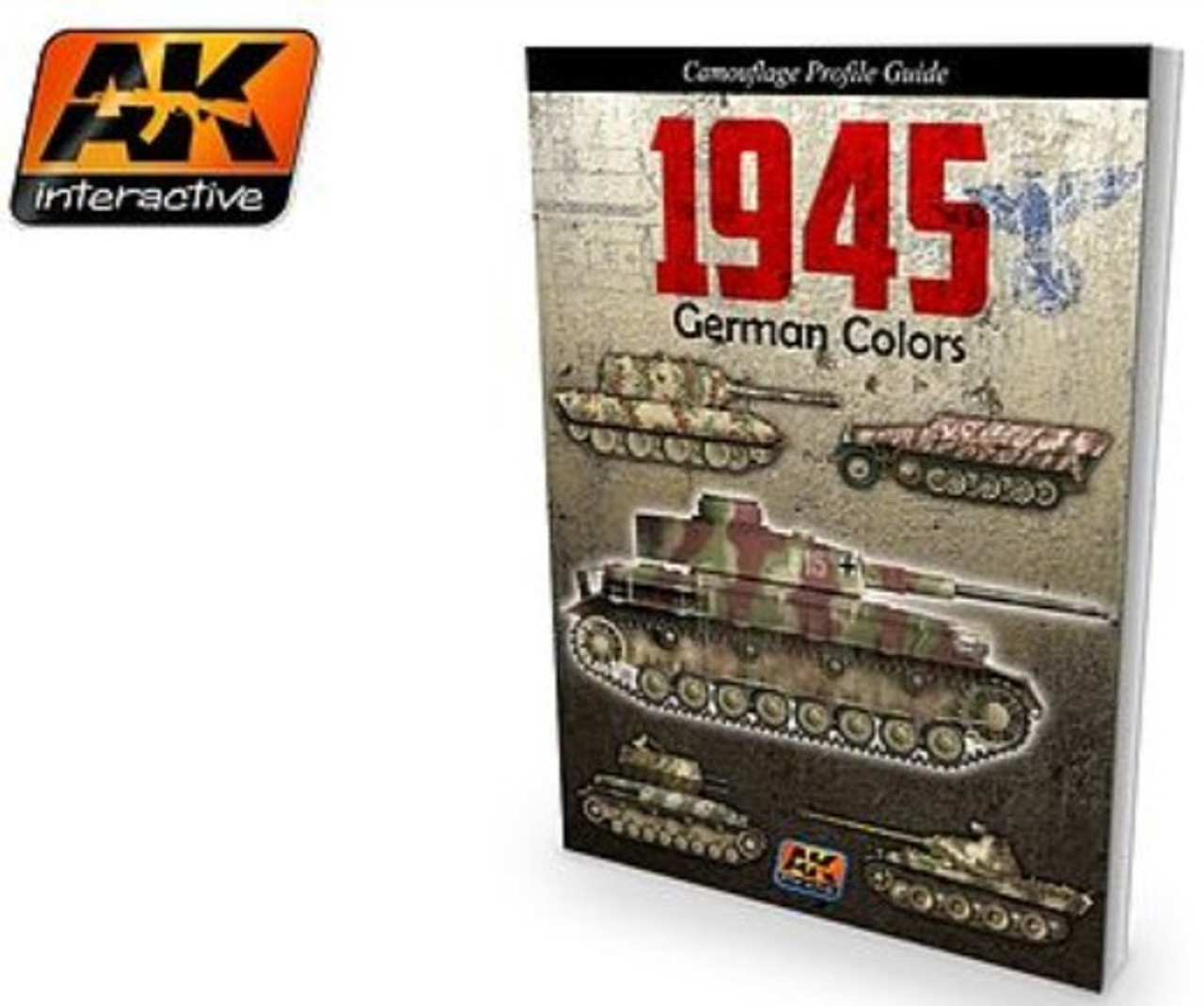 1945 German Colors Camouflage Profile Guide Book