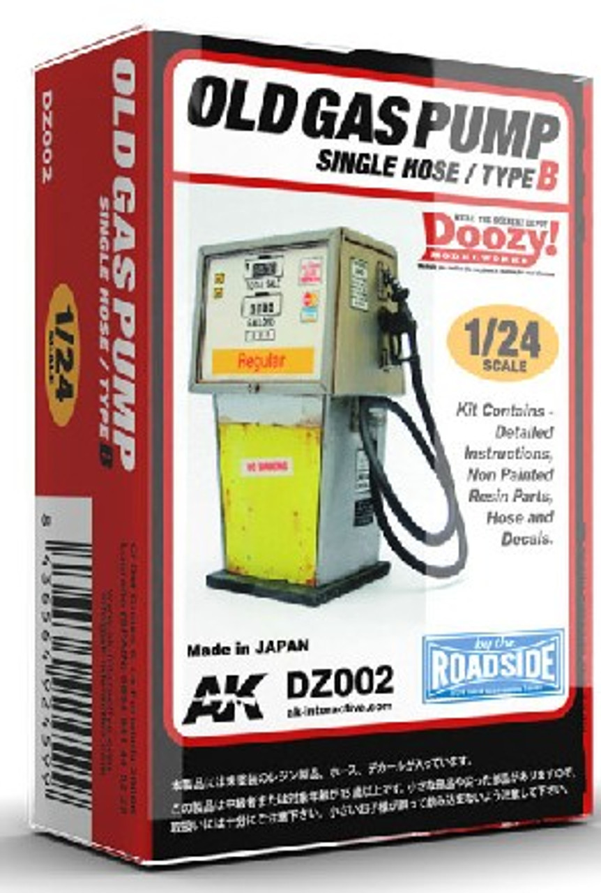 1/24 Doozy Series: Regular Old Gas Pump w/Single Hose (Resin)