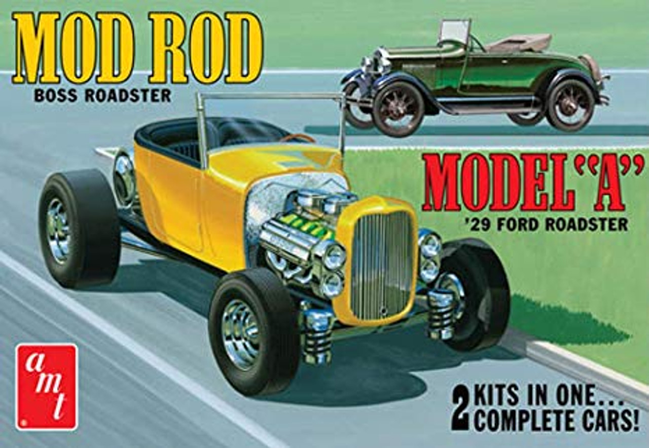 AMT1002  1929 Ford Model A Roadster
