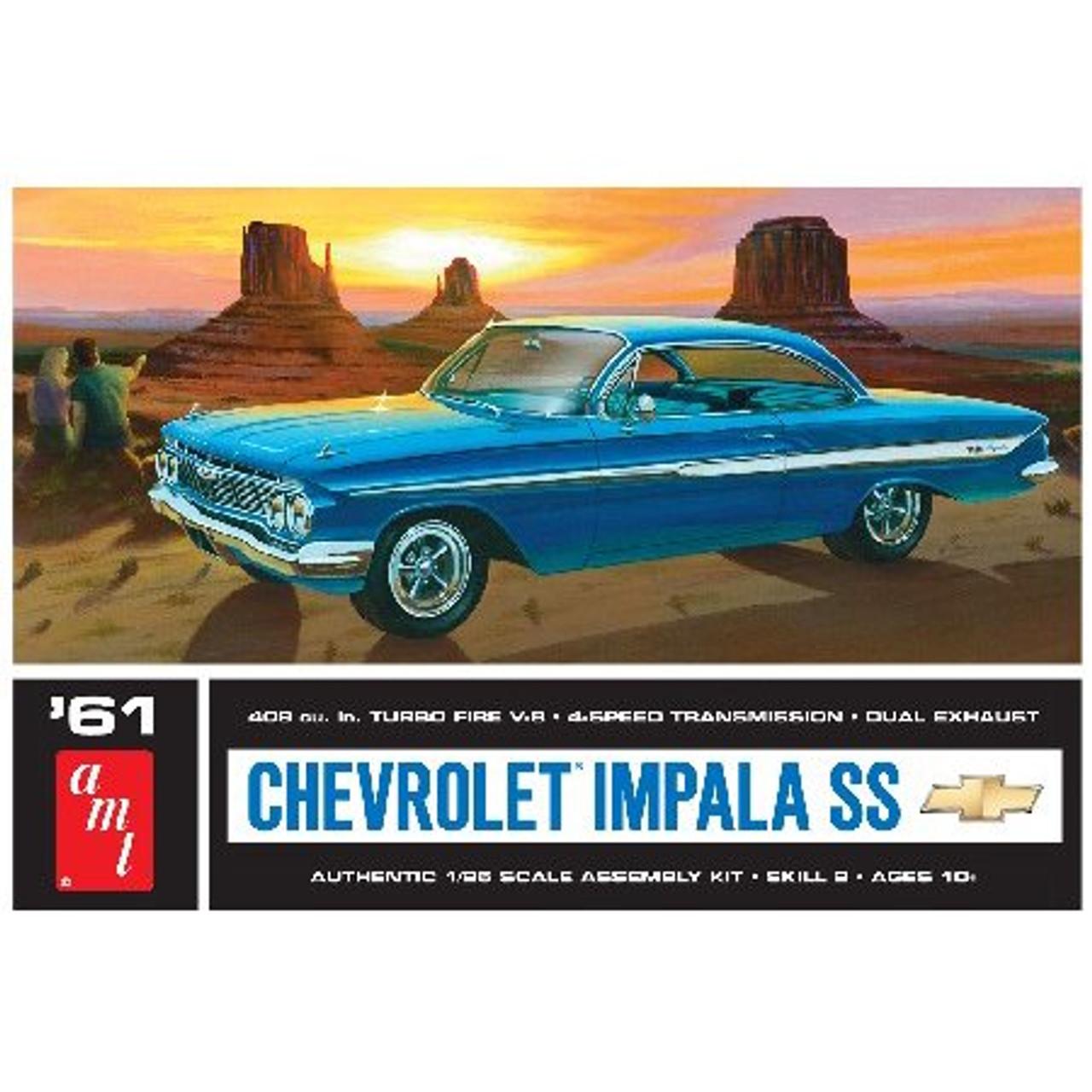 AMT1013  1961 Chevy Impala SS
