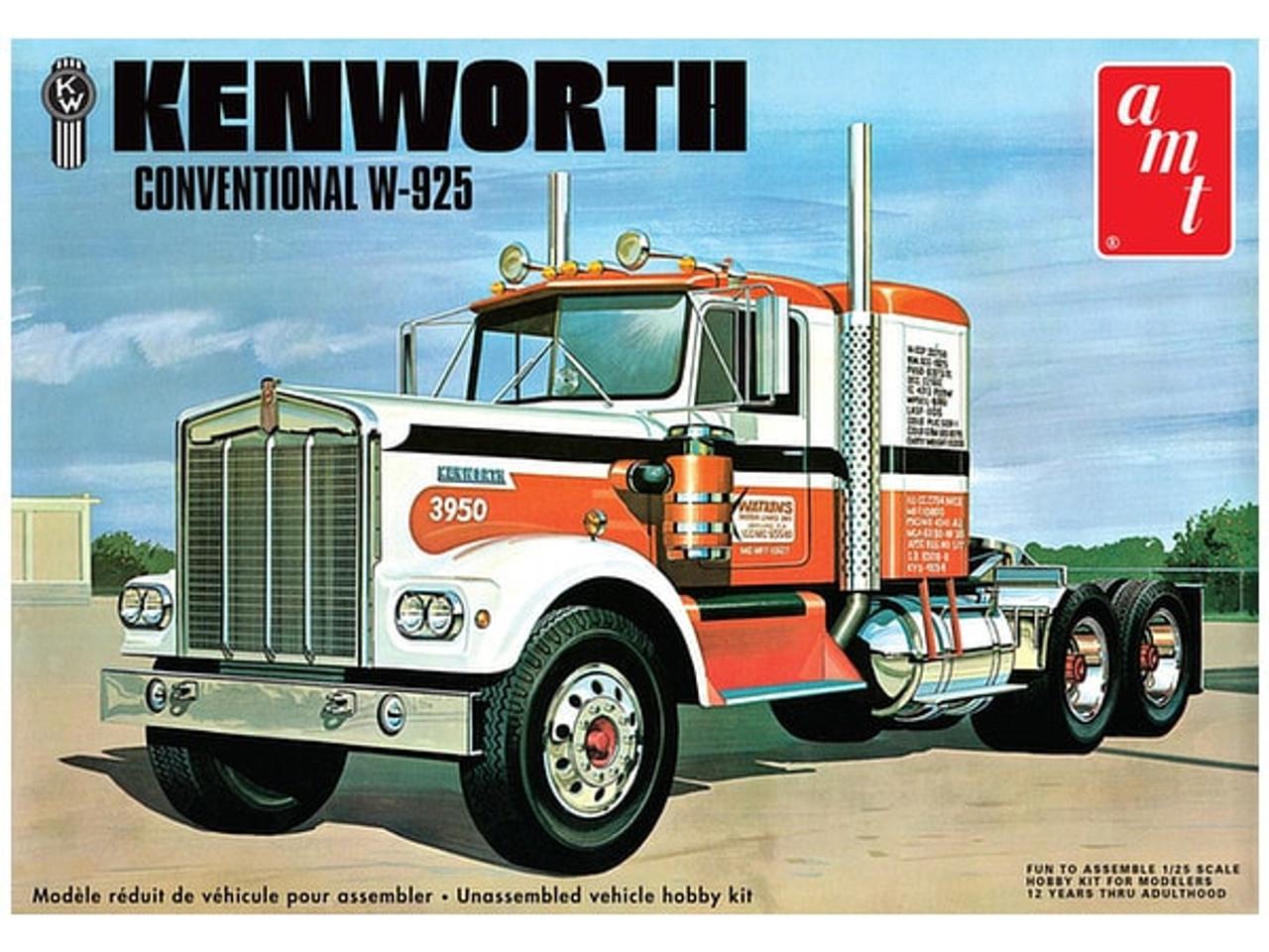 AMT1021  1/25 KENWORTH W925