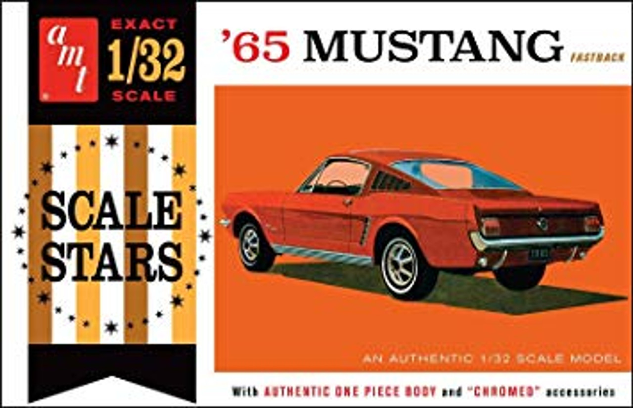 AMT1042  1965 Ford Mustang Fastback