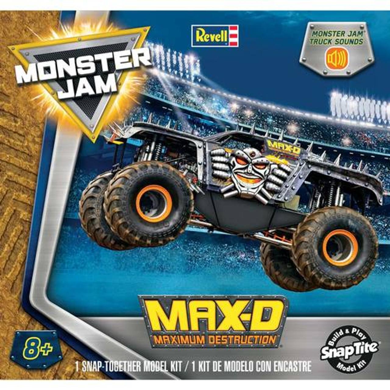 RMX851989  Max-d Monster Truck Skill 2