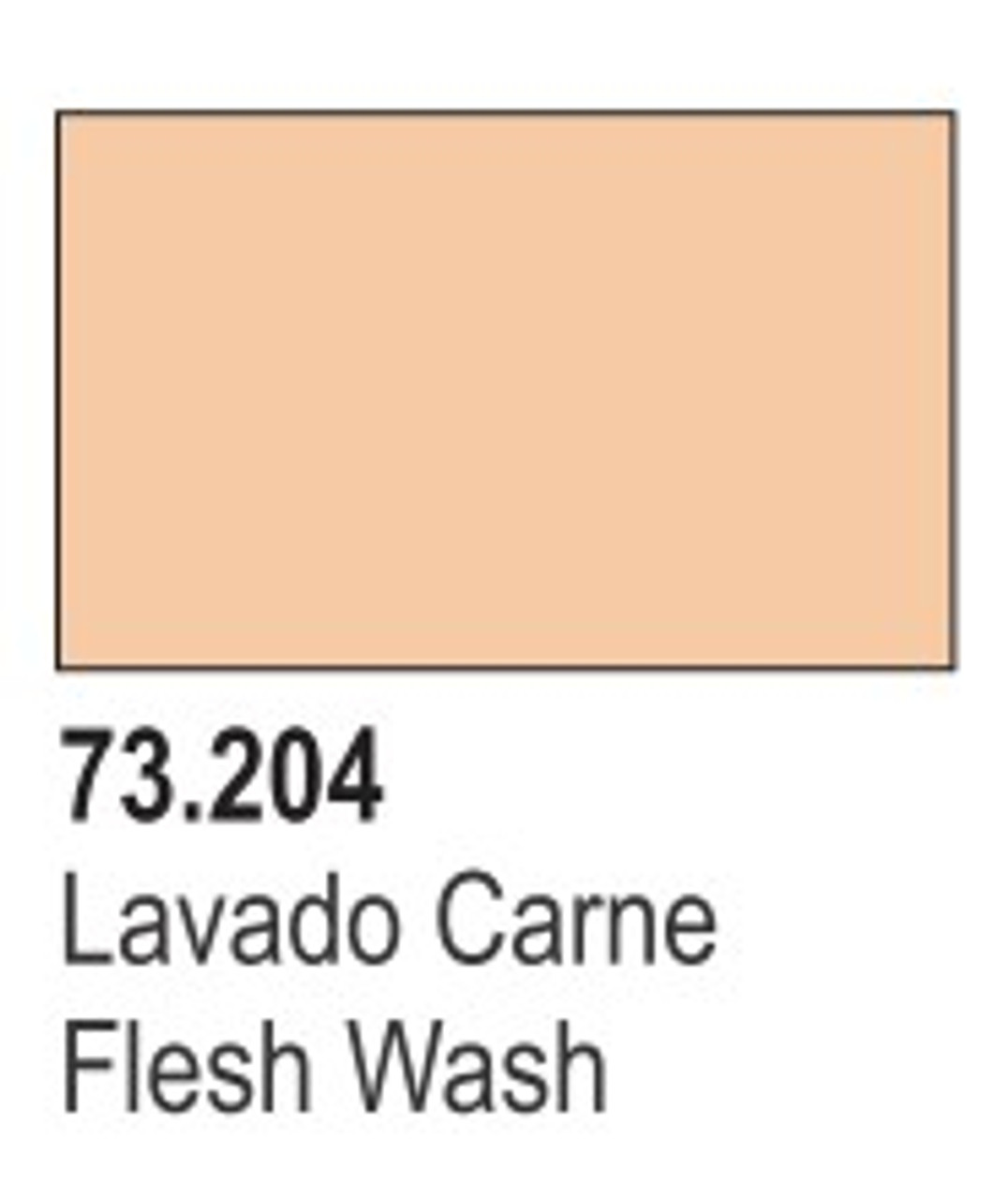 17ml Bottle Flesh Wash