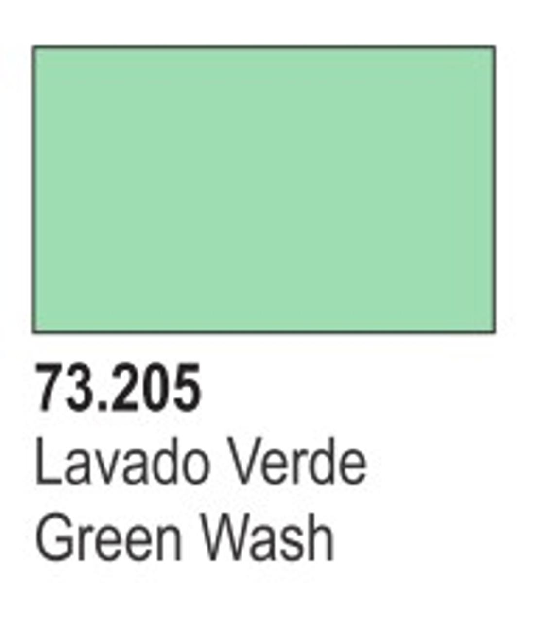 17ml Bottle Green Wash
