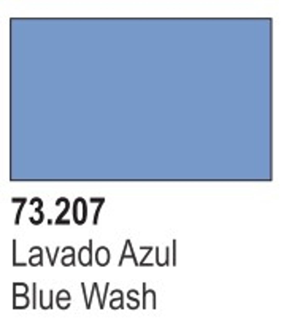 17ml Bottle Blue Wash