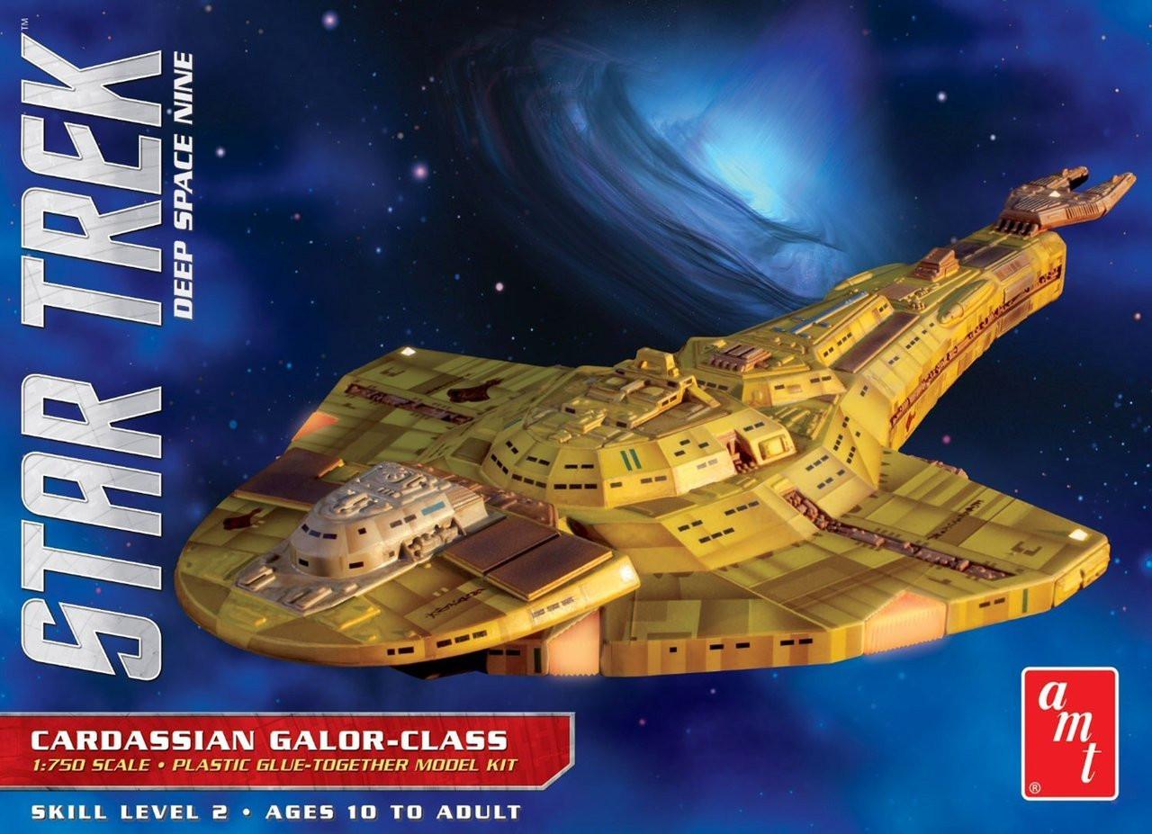 AMT1028/12  AMT1028/12 1/750 Star Trek Deep Space 9 Cardassian Galr