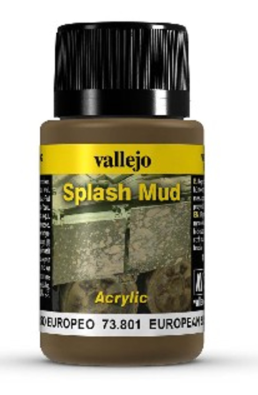 40ml Bottle European Splash Mud Weathering Effect