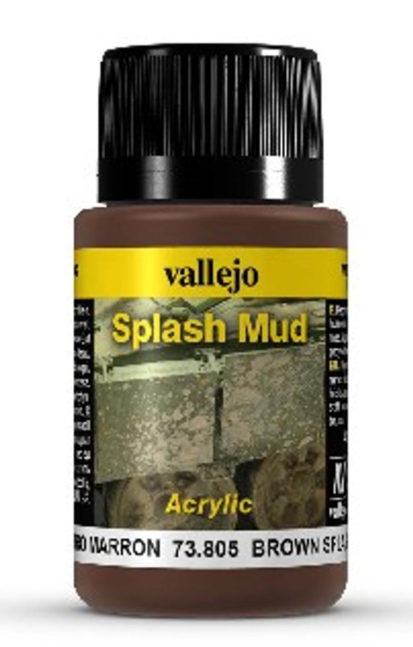 40ml Bottle Brown Splash Mud Weathering Effect