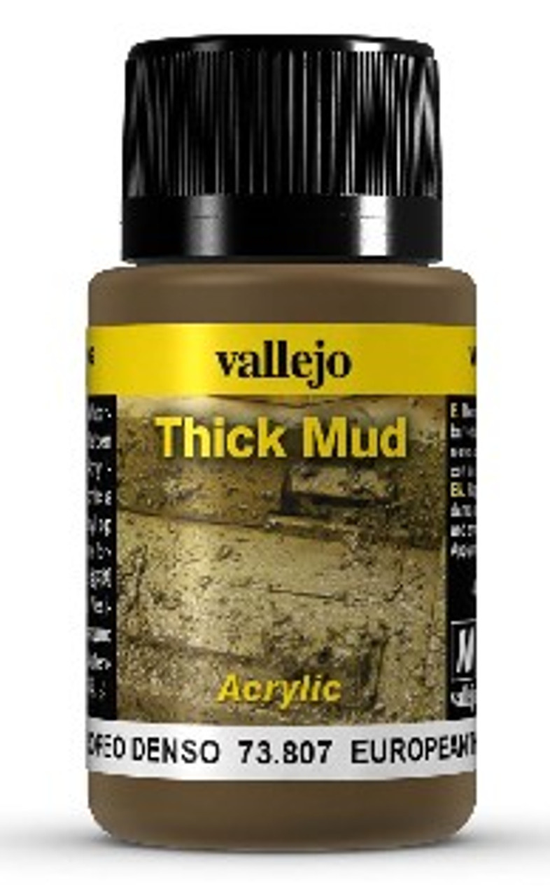 40ml Bottle European Thick Mud Weathering Effect