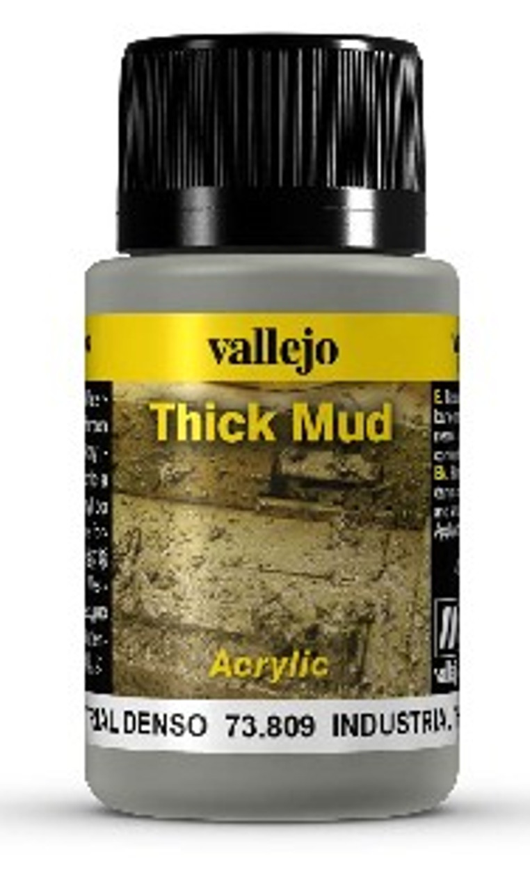 40ml Bottle Industrial Thick Mud Weathering Effect