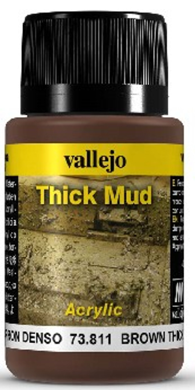 40ml Bottle Brown Thick Mud Weathering Effect