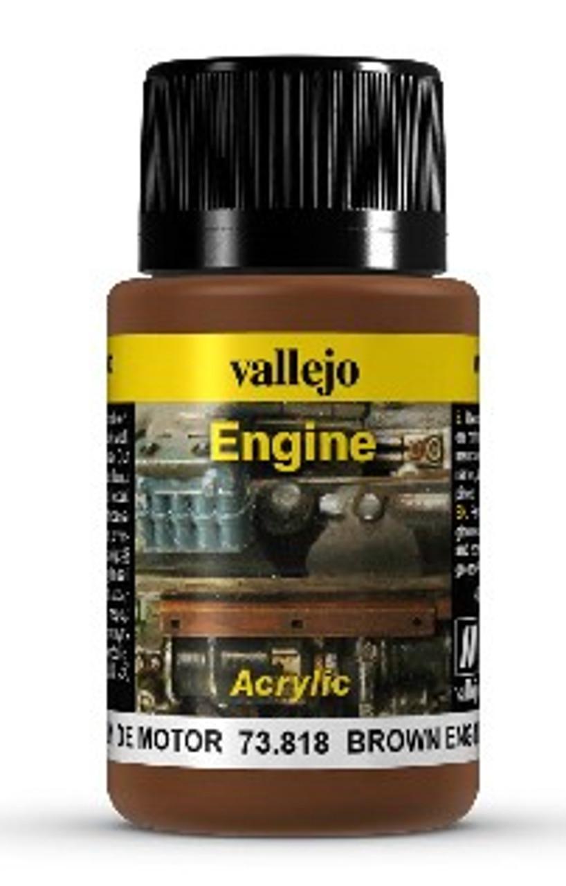 40ml Bottle Brown Engine Soot Weathering Effect