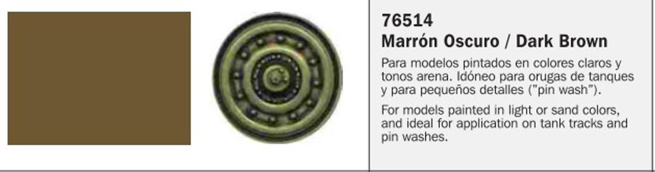35ml Bottle Dark Brown Model Wash