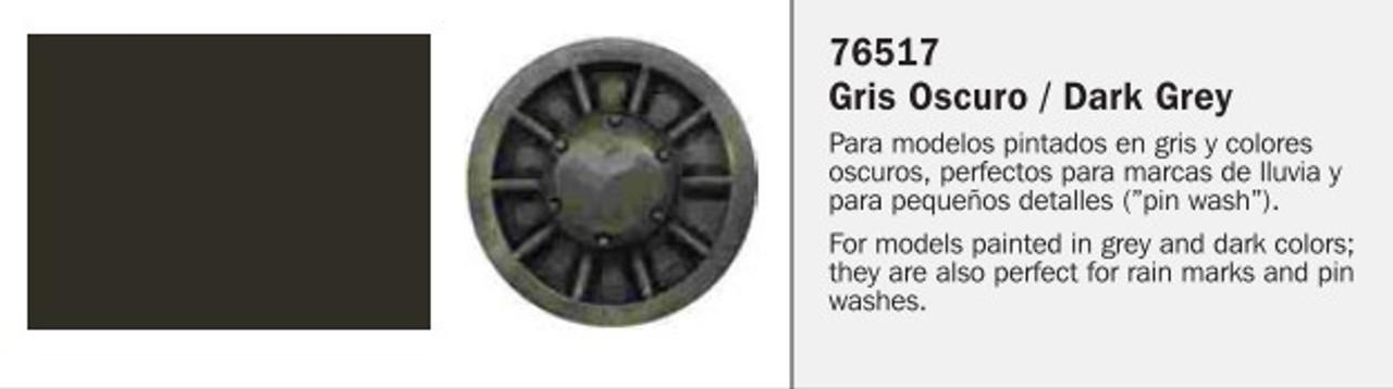35ml Bottle Dark Grey Model Wash