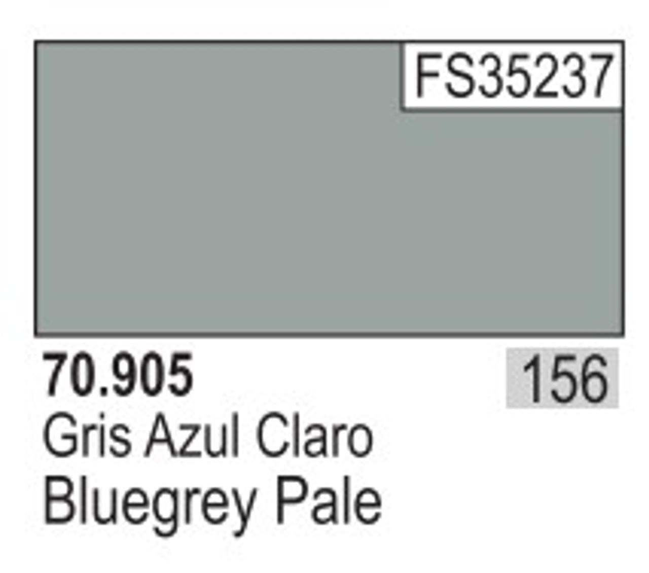 17ml Bottle Blue Grey Pale Model Color
