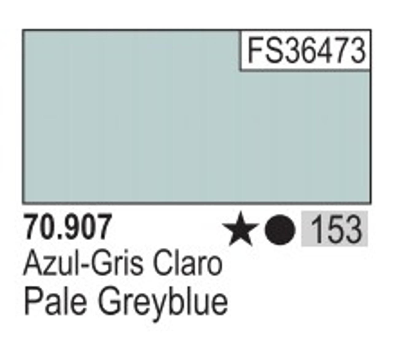 17ml Bottle Pale Grey Blue Model Color