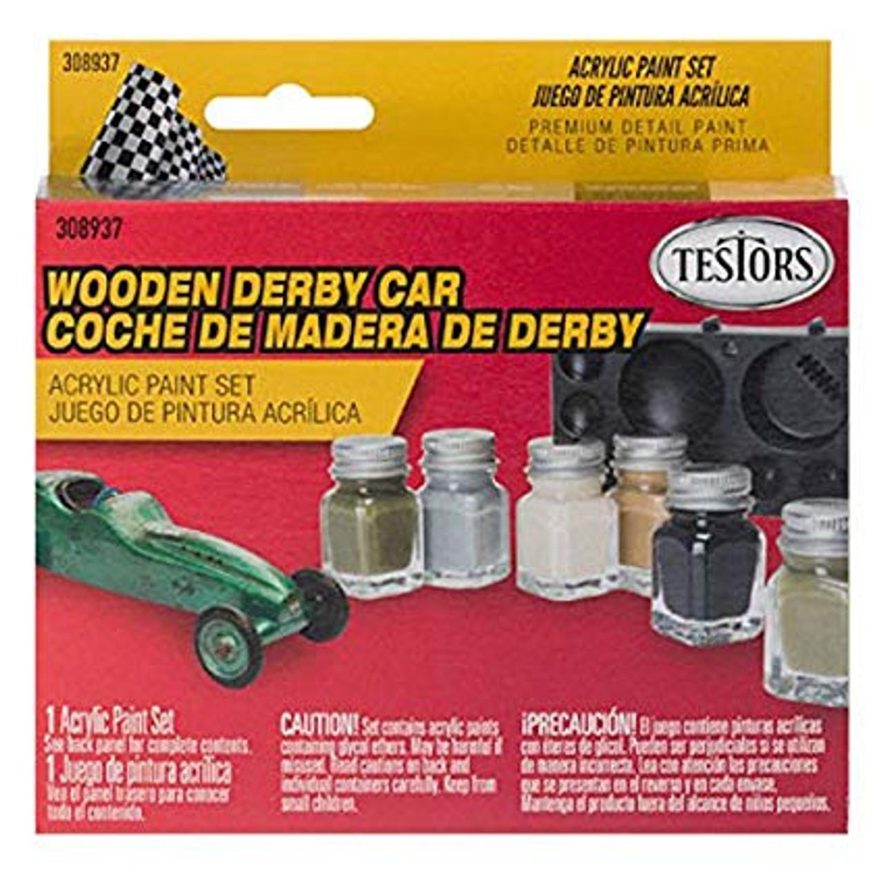 Derby Paint Set Camo