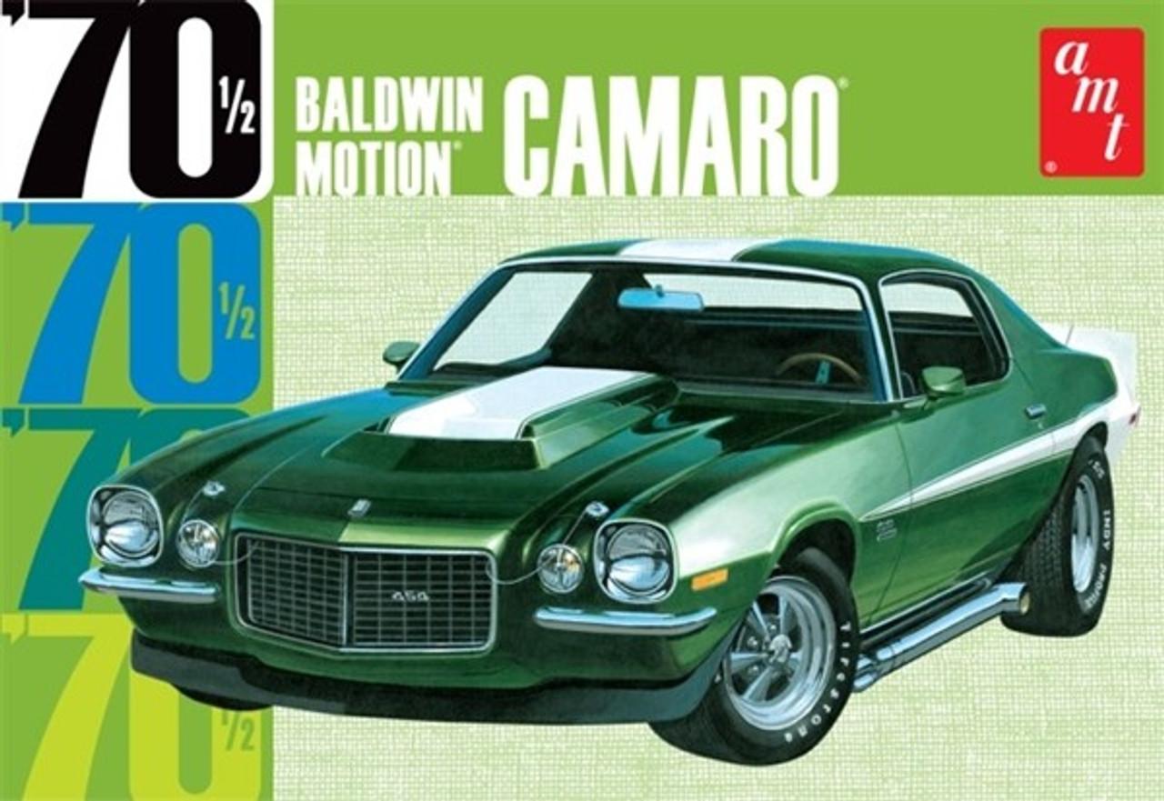 AMT-855  1/25 1970-1/2 Baldwin Motion Chevy Camaro Car (Green)