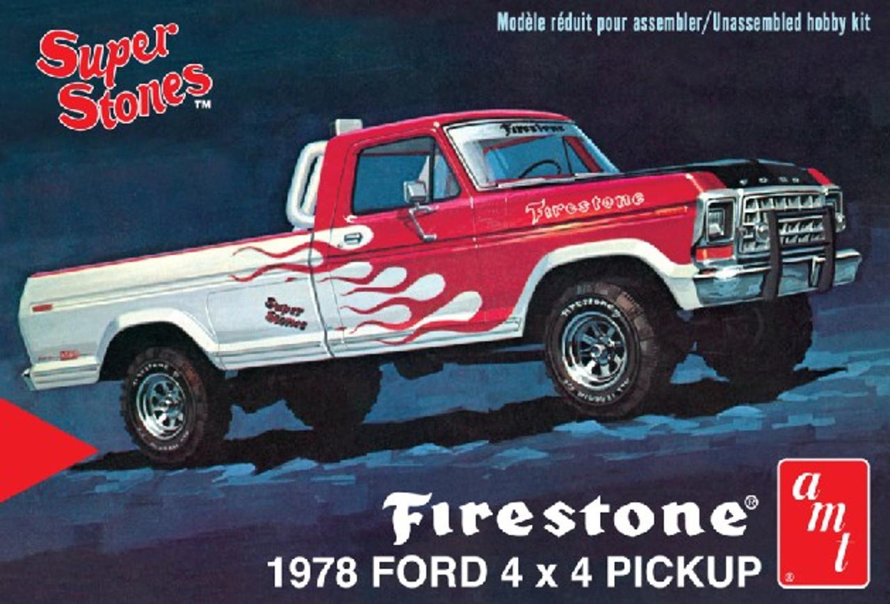 AMT-858  1/25 1978 Ford 4x4 Firestone Super Stones Pickup Truck