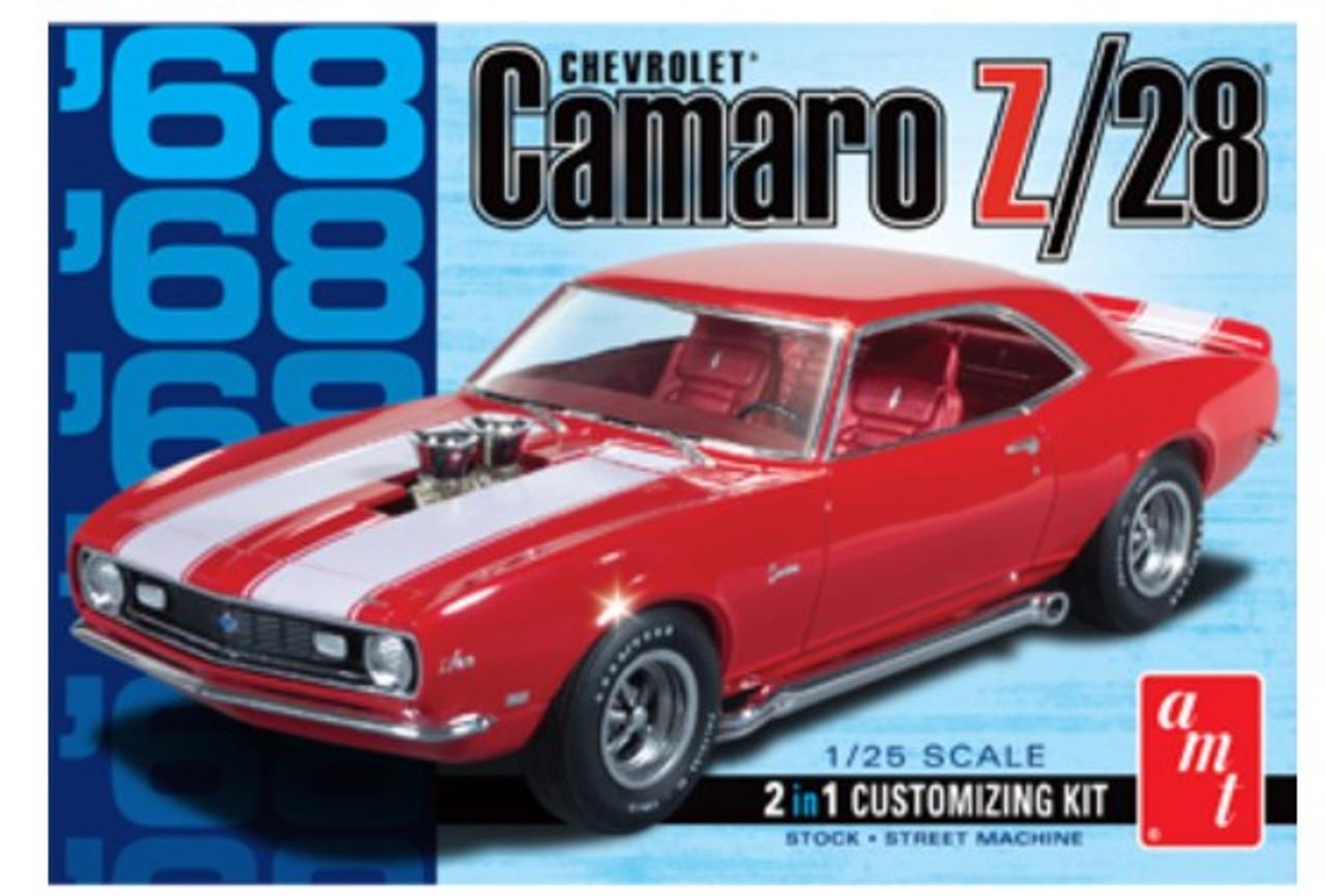 AMT-868  1/25 1968 Camaro Z28 Car (2 in 1)