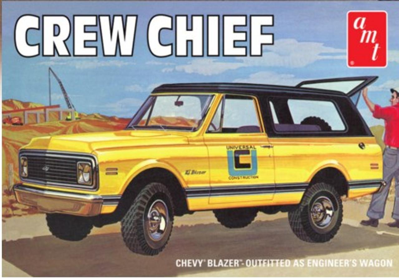 AMT-897  1/25 1972 Crew Chief Chevy Blazer Truck