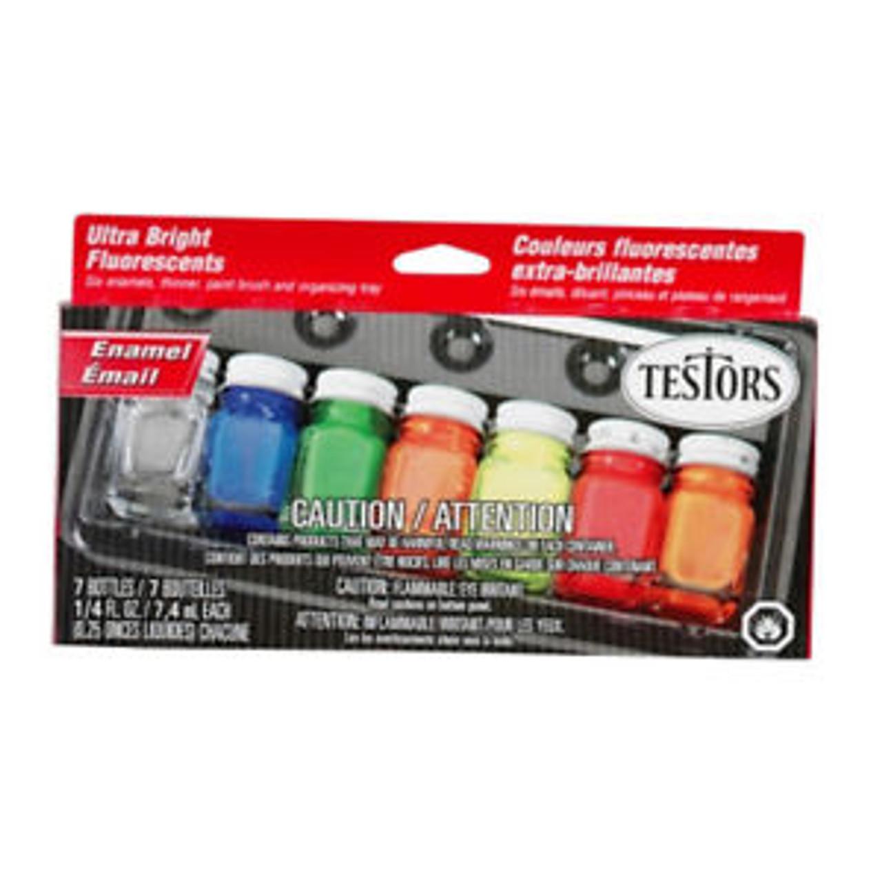Flourescent Paint Kit (6 Colors)