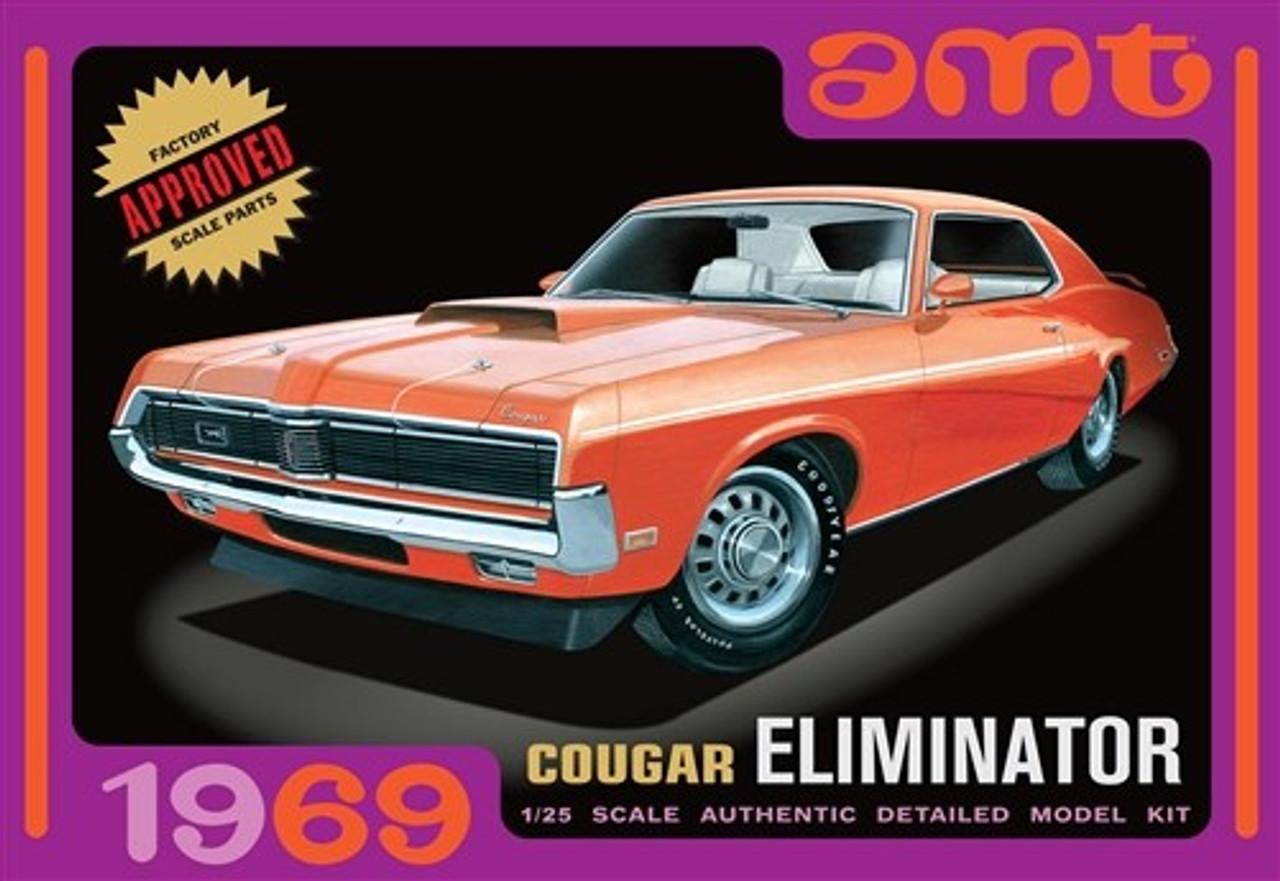 AMT-912  1/25 1969 Cougar Eliminator Car (Orange)