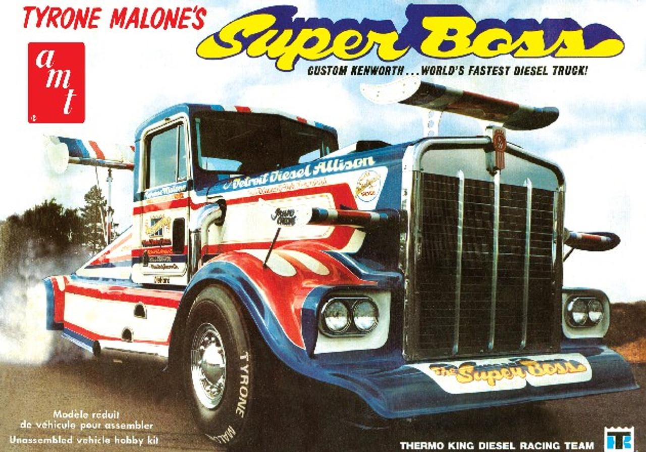 AMT-930  1/25 Tyrone MaloneÌÎÌ__ÌÎÌ__ÌÎå«ÌÎ̦s Super Boss Kenworth