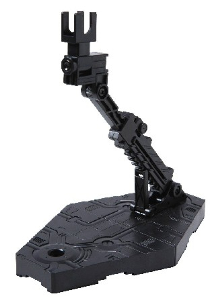 1/144 Black Display Stand Action Base