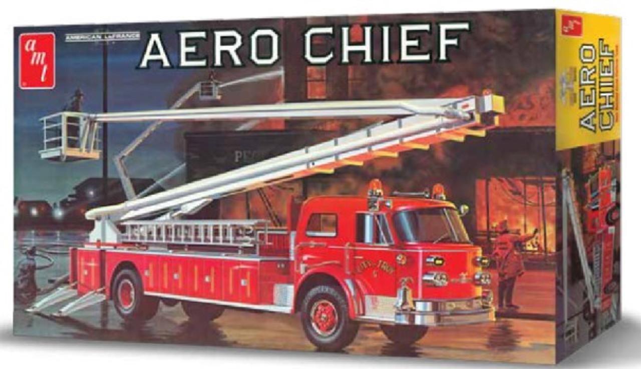 AMT-980  1/25 1970's American LaFrance Aero Chief Fire Truck