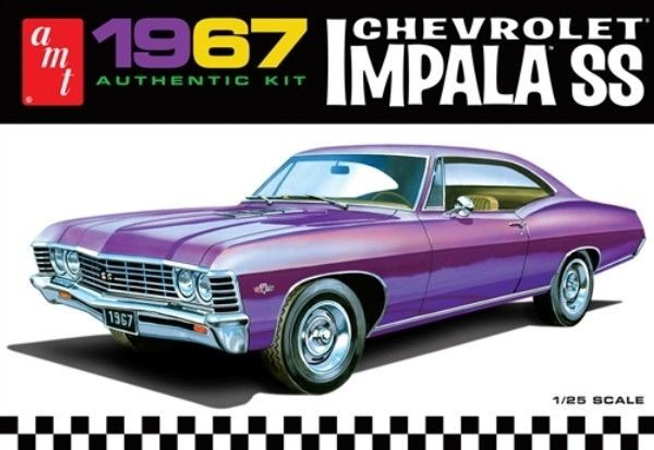 AMT-981  1/25 1967 Chevy Impala SS Car