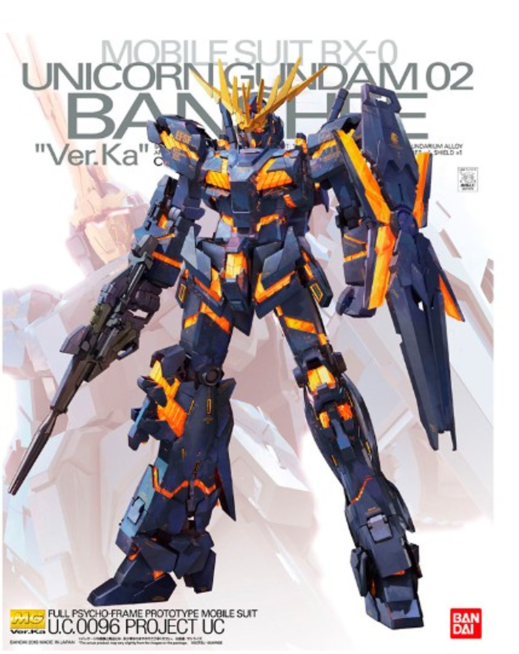 1/100 HG Universal Century Series: Unicorn Gundam 02 Banshee (Ver.Ka)