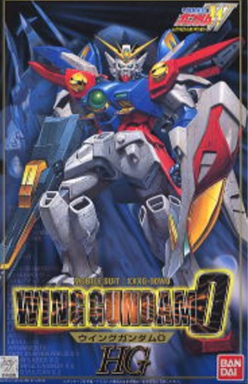 1/100 HG Gundam Wing Series: #004 Wing Gundam 0