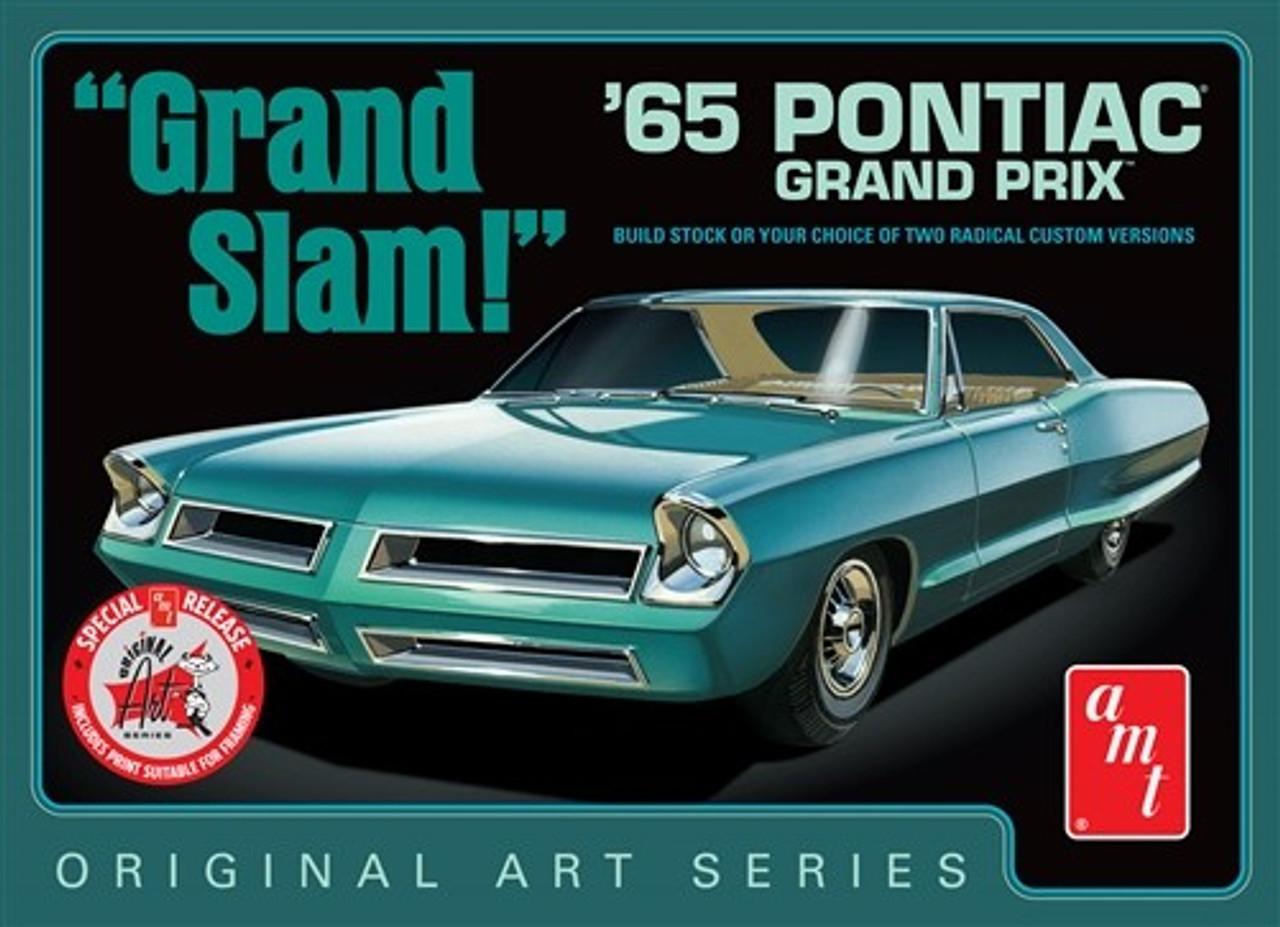 AMT-990  1/25 1965 Pontiac Grand Prix Grand Slam Car (White)