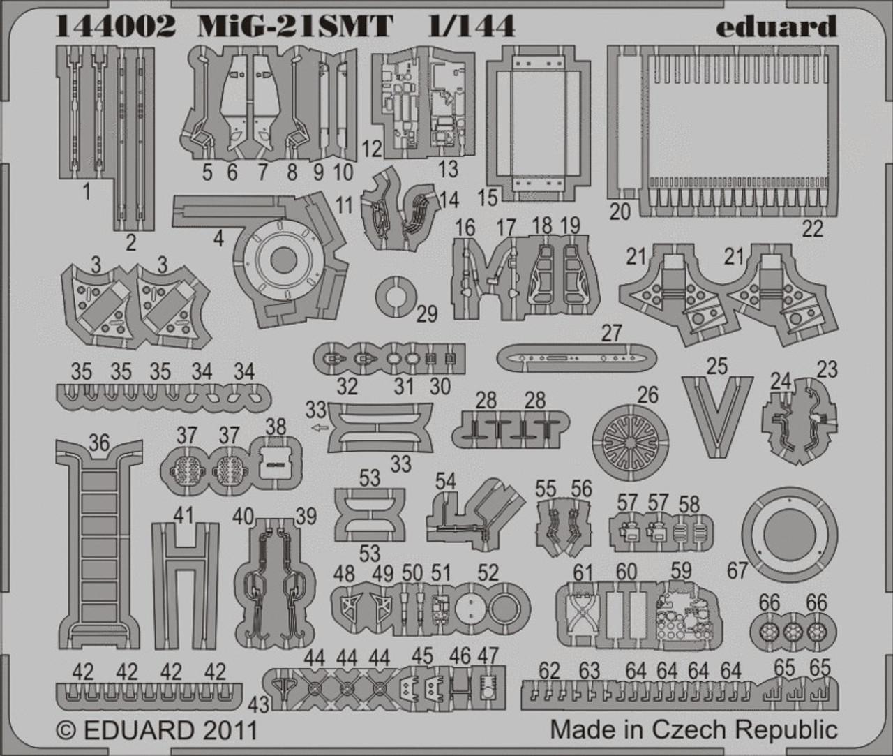1/144 Aircraft- MiG21SMT for EDU