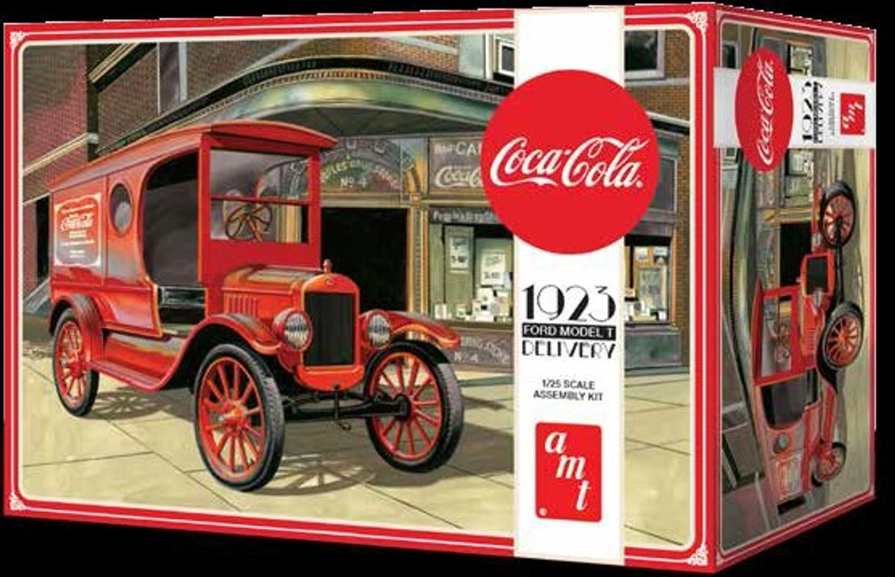 AMT-1024  1/25 Coca Cola 1923 Ford Model T Delivery Truck