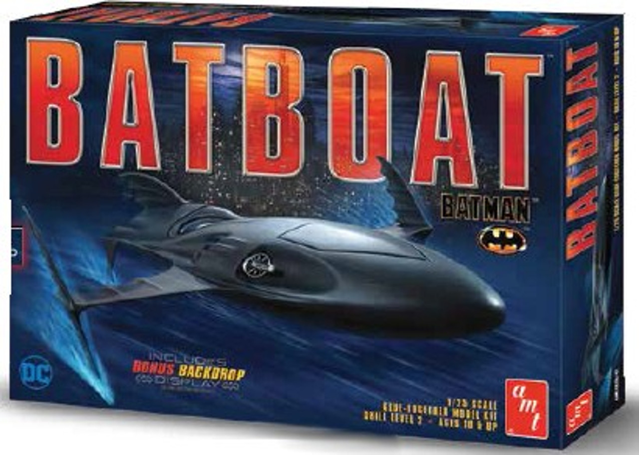 AMT-1025  1/25 Batman Returns: Batboat