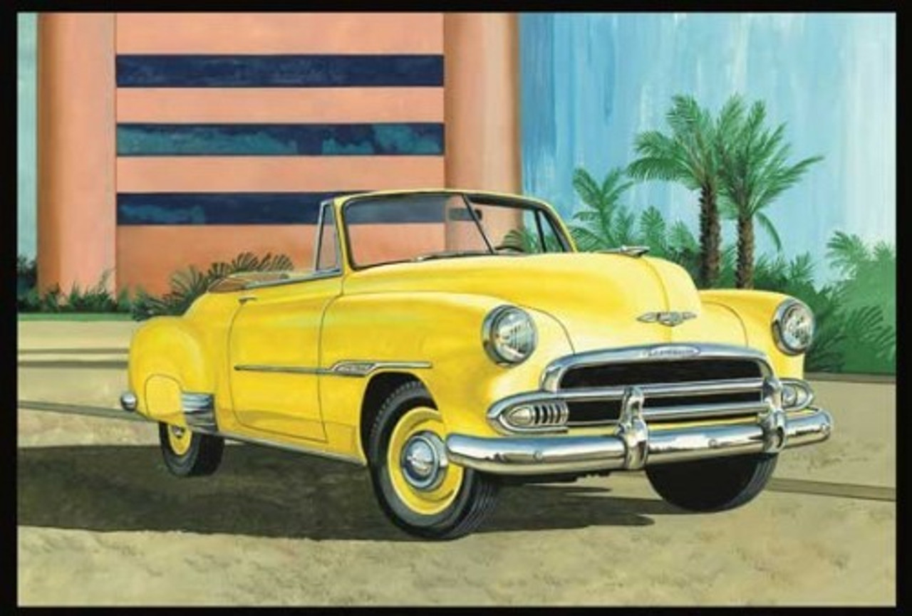 AMT-1041  1/25 1951 Chevy Sun Cruiser Convertible