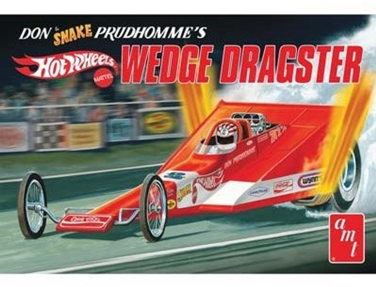 AMT-1049  1/25 Don Snake Prudhomme's Wedge Dragster