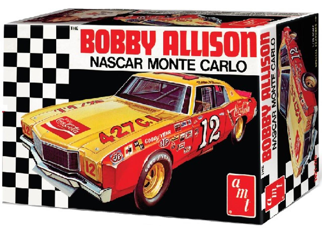 AMT-1064  1/25 Bobby Allison's 1972 Coca Cola Chevy Monte Carlo Race Car