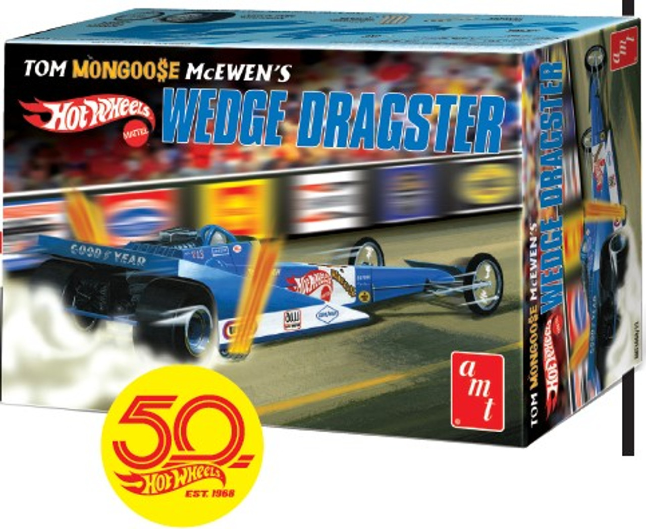 AMT-1069  1/25 Tom Mongoose McEwen's Wedge Dragster