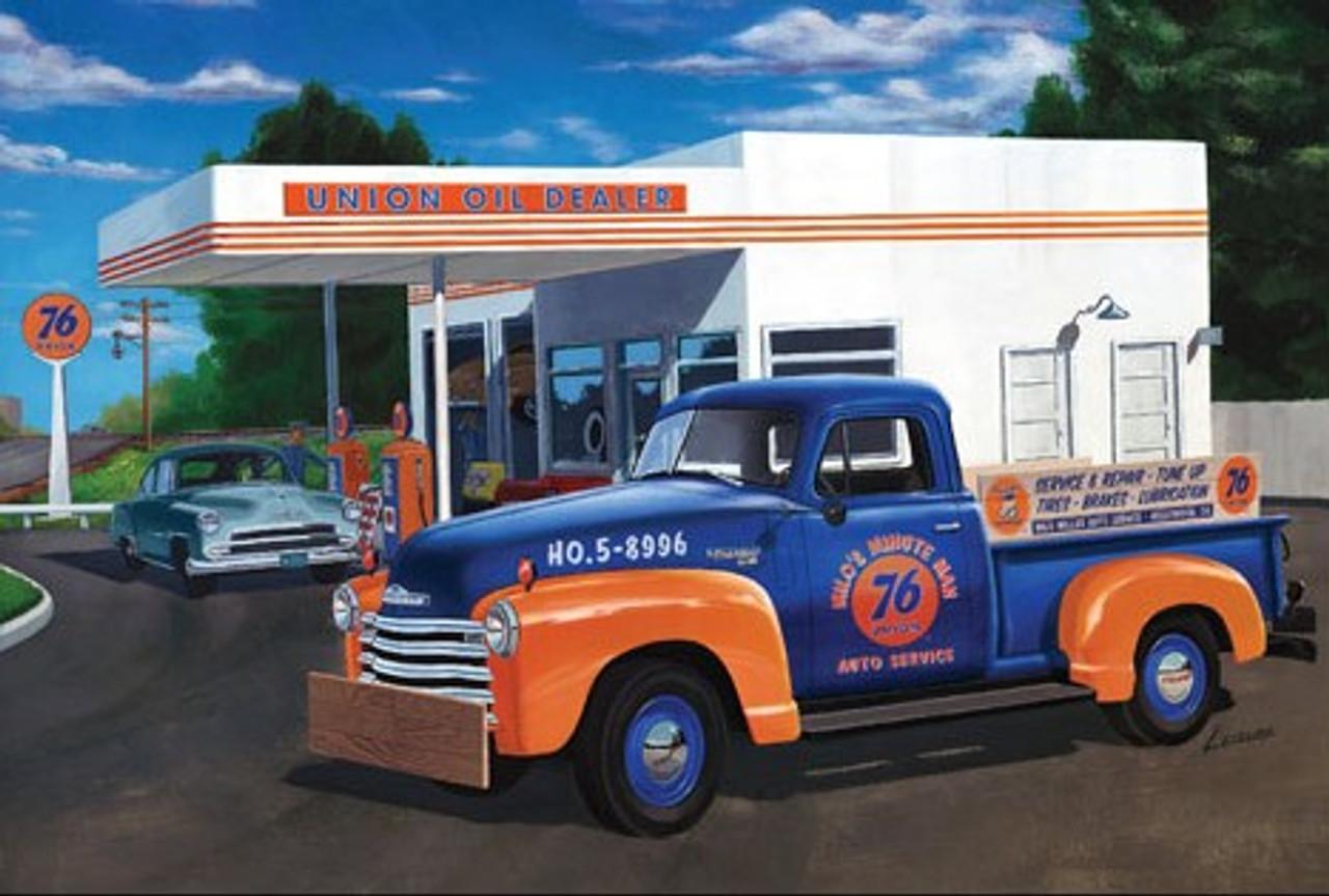 AMT-1076  1/25 1950 Chevrolet 3100 (Union 76) Pickup Truck