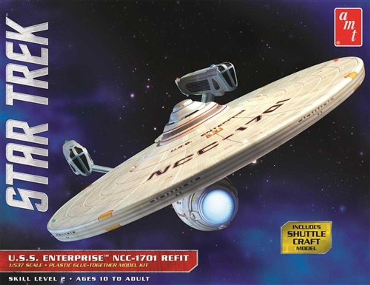 AMT-1080  1/537 Star Trek USS Enterprise Refit